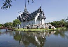 Samutprakan的古城 免版税库存照片