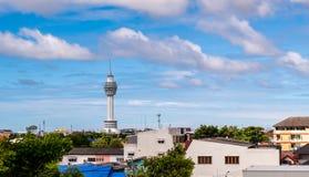 Samutprakarn Tailândia da câmara municipal, Foto de Stock Royalty Free