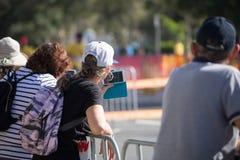 2018 samväldesspelenmaratonbilder Royaltyfria Bilder