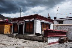 Samye świątynia zdjęcia stock