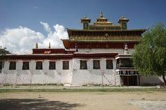 Samye Gompa i Tibet royaltyfria foton