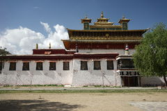 Samye Gompa in Tibet Royalty Free Stock Photos