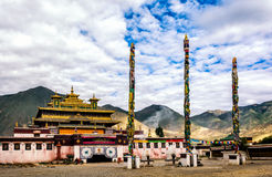 Samye monastery Royalty Free Stock Photos