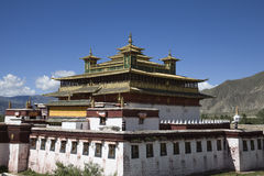 Samye monastery Royalty Free Stock Images