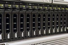 SAN数据存储 库存图片