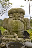 San Agustin Archaelogical Park - Colombia. This monuments is found at the San Agustin Archeological Park and surrounding area Stock Photo