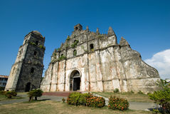 San Agustin Church Stock Image