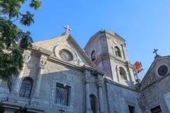 San Agustin Church, een Rooms-katholieke kerk onder toezicht van de Orde van St Augustine Stock Afbeelding