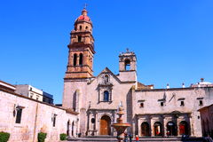 San Agustin church III stock photography