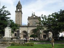 San Agustin church, Intramuros, old walled city, Manila, Philippines royalty free stock images