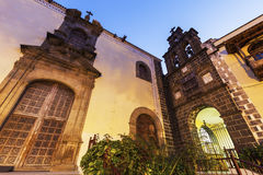 San Agustin Church in La Orotava Stock Photo