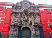 San Agustin Church - Lima, Peru Royalty Free Stock Image