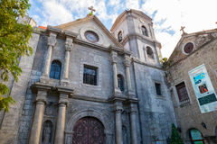 San Agustin Church in Manila Stock Photos