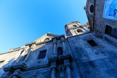 San Agustin Church, a Roman Catholic church under the auspices of The Order of St. Augustine Stock Images