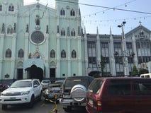 San Agustin Church royalty free stock photo