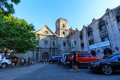 San Agustin Church, a Roman Catholic church under the auspices of The Order of St. Augustine Stock Photo