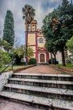 San Agustin Church, Spain. Históric and old town of Málaga. The city is a municipality, capital of the Province of Málaga, in the Autonomous Community of Stock Photos