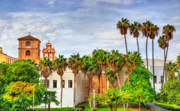 San Agustin klasztor w Malaga, Hiszpania zdjęcie royalty free