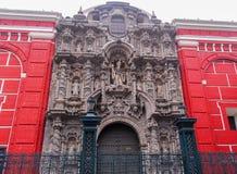 San Agustin kościół - Lima, Peru Obraz Royalty Free