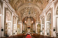 San Agustin kościół, Manila, Filipiny Obraz Stock