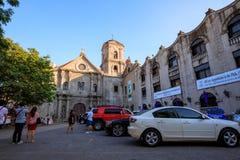 San Agustin kościół, kościół rzymsko-katolicki pod auspicjami rozkazu St Augustine Obraz Stock
