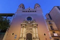 San Agustin kościół w Tarragona Obraz Stock
