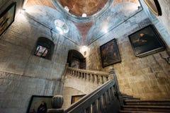 San Agustin kościół wewnątrz Intramuros, Manila Filipiny Zdjęcie Stock