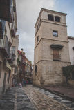 San Agustin street, Spain Royalty Free Stock Images