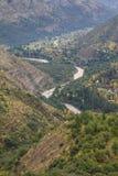 San Alfonso dal, slinga i berget royaltyfri fotografi