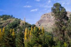 San Alfonso dal, slinga i berget fotografering för bildbyråer