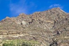 San Alfonso dal, slinga i berget arkivbilder