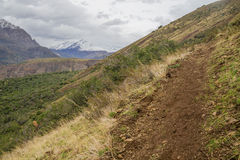 San Alfonso valley, Trail in the  Mountain Stock Photography