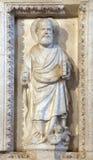 San, altare nella cattedrale della st Domnius nella spaccatura Immagini Stock Libere da Diritti