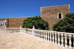 San Andres Castle, Carboneras Fotografie Stock Libere da Diritti