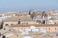 San Andres church and Convento de la Encarnacion in Baeza city. World Heritage Site, Jaen, Spain Royalty Free Stock Photo