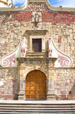 San Andres Church Entrance in Ajijic Royalty Free Stock Photography