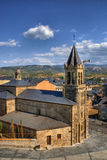San Andres church in Ponferrada Royalty Free Stock Photos