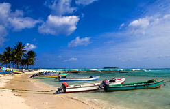 San Andres Island , Colombia Royalty Free Stock Photo