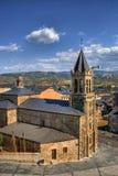 San Andres kościół w Ponferrada Zdjęcia Royalty Free