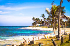 San Andres - la Colombie Image stock