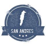 San Andres logo sign. Royalty Free Stock Image