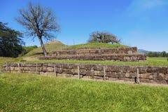San Andres ruins in El Salvador. La Libertad, El Salvador Stock Image