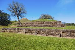 San Andres ruiny w Salwador Obraz Stock