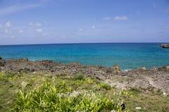 San Andres som är karibiskt, Colombia - ö av San Andres Fotografering för Bildbyråer
