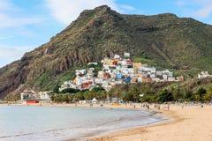 San Andres, Tenerife, canarino, Spagna fotografia stock libera da diritti