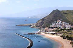 San Andres and Teresitas beach on Tenerife Spain Stock Images
