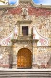 San- Andreskirche-Eingang in Ajijic Lizenzfreie Stockfotografie
