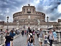 SAN Angelo Castle, Ρώμη, Ιταλία Στοκ Φωτογραφίες
