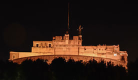 San Angelo Castle at night Stock Photo
