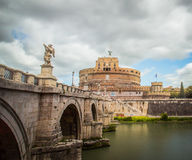 San Angelo. The San Angelo castle of Rome Stock Photography